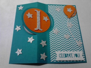 Celebrate Flip Card Inside