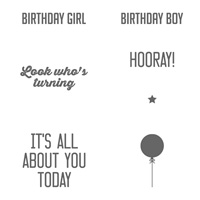 Hooray It's Your Day Stamp Set