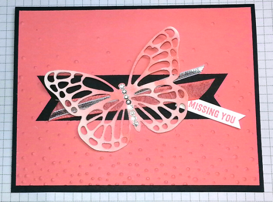 Shimmery Butterfly