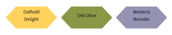 Daffodil Olive Wisteria
