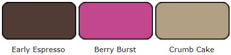 Early Espresso Berry Burst Crumb Cake