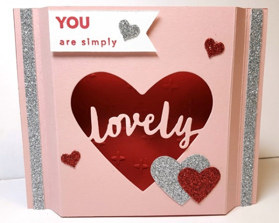 Lovely Amazing Valentine Fancy Fold