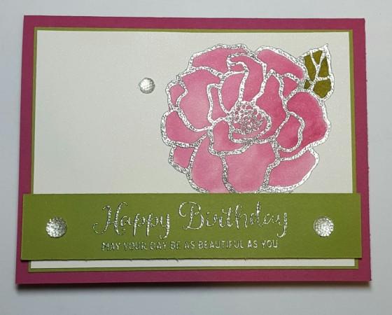 Berry Beautiful Watercolor Birthday