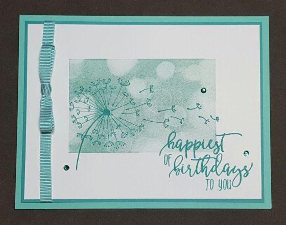 Coastal Bay Dandelion Birthday Wishes