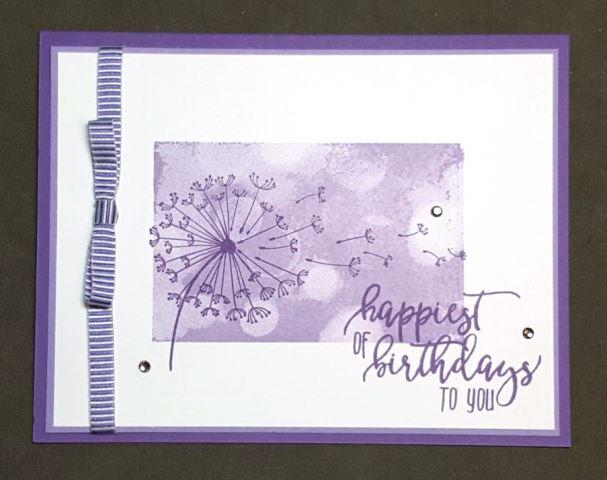Grape Heather Dandelion Birthday Wishes