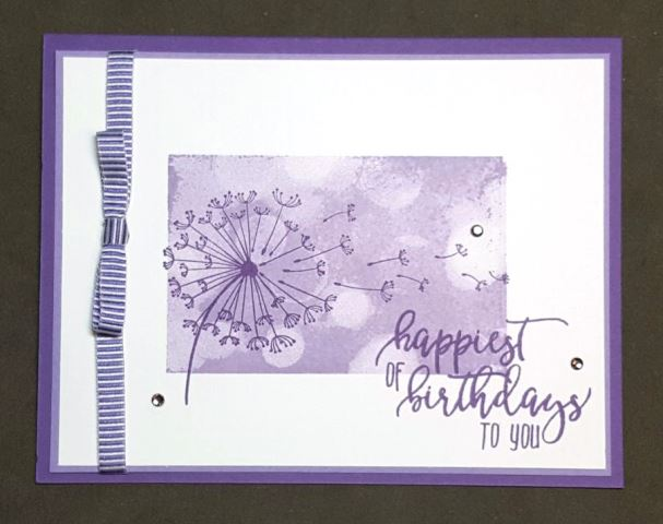 Grape Heather Dandelion Birthday Wishes