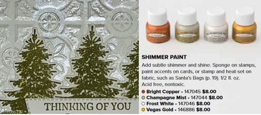 Shimmer Paint with Close Up