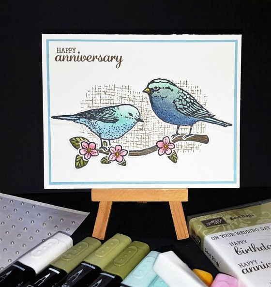best blue birds blends for an anniversary