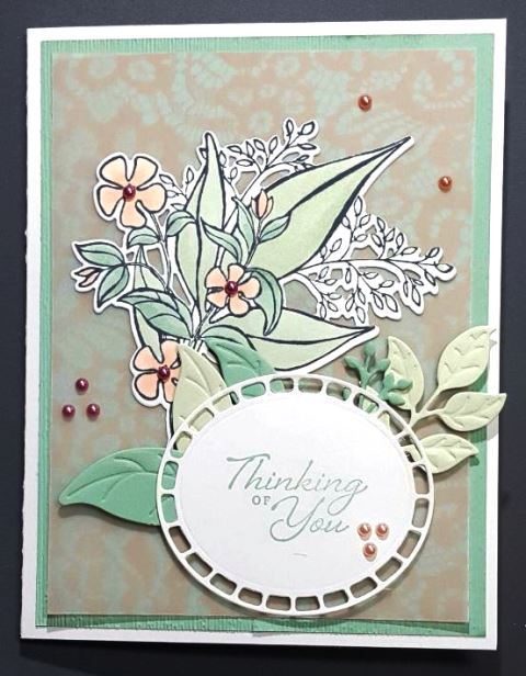 romantic vellum & blends