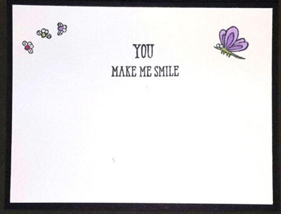 Hey Hey Hey Fun Frog Card Inside