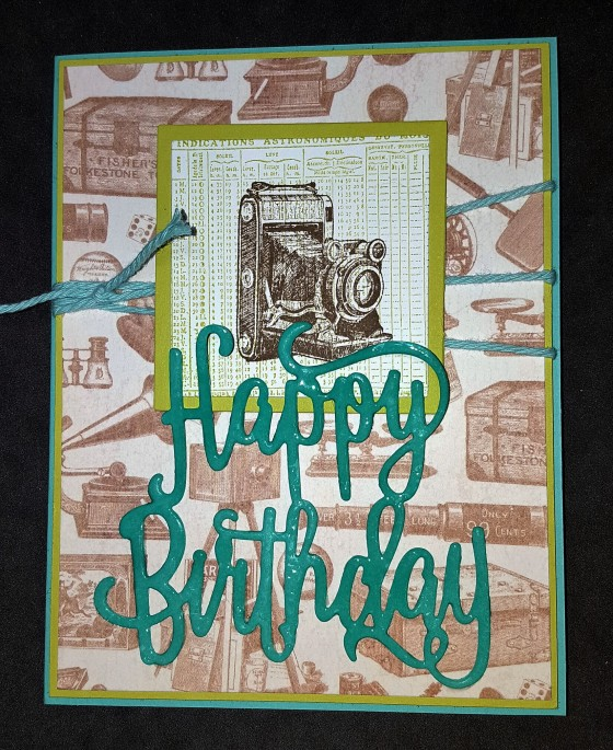 Vintage Happy Birthday