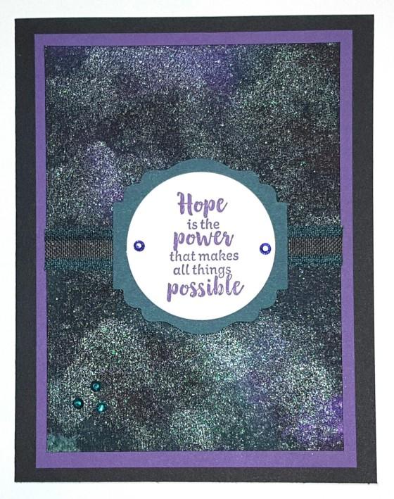 Shimmering Power of Hope